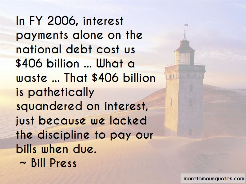 Bill Press Quotes Pictures 4