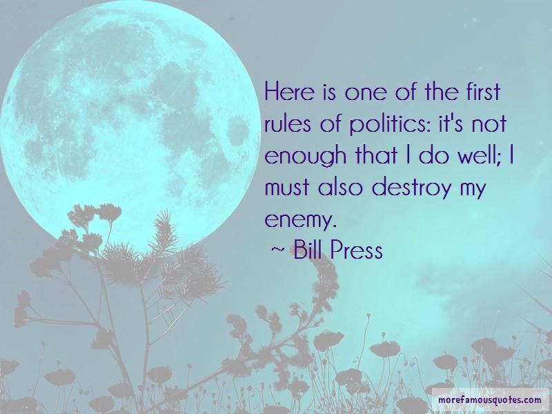 Bill Press Quotes