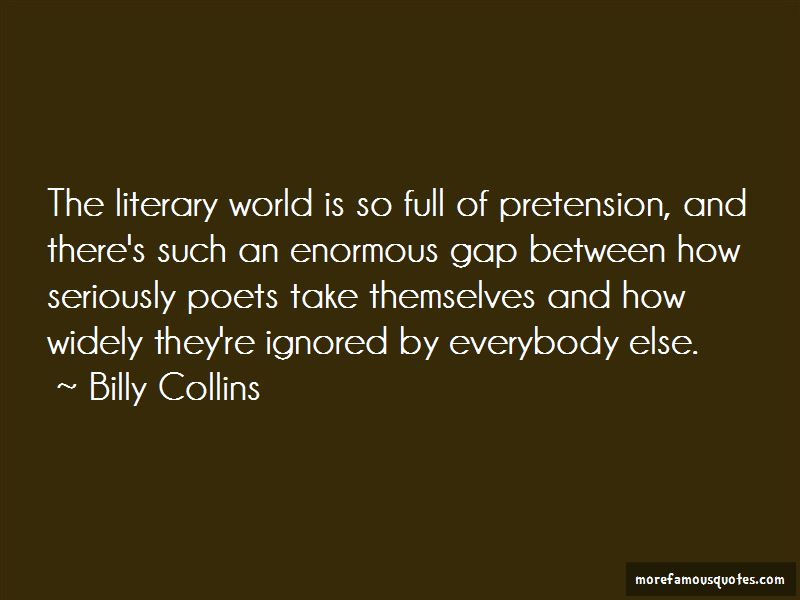Billy Collins Quotes Pictures 2