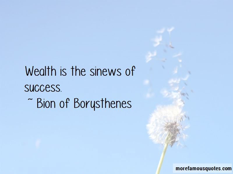 Bion Of Borysthenes Quotes Pictures 2