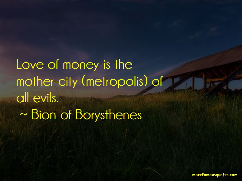 Bion Of Borysthenes Quotes Pictures 4