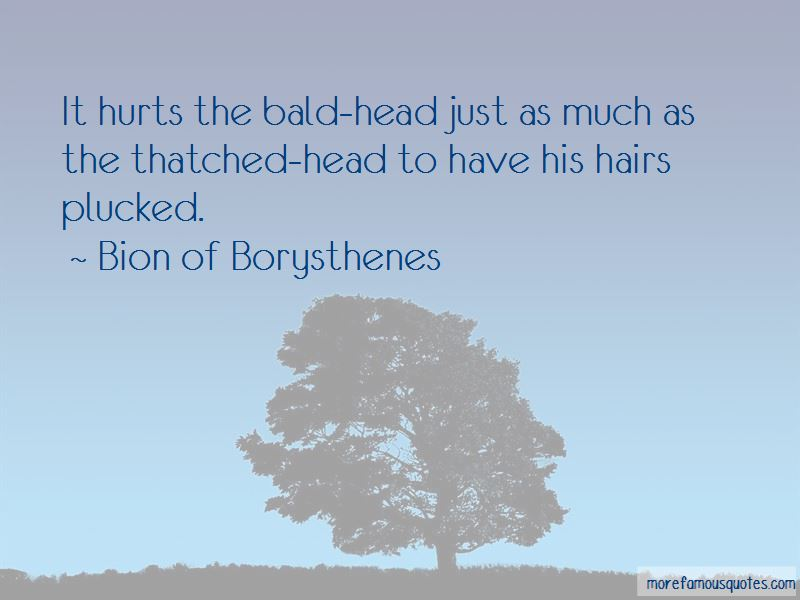 Bion Of Borysthenes Quotes
