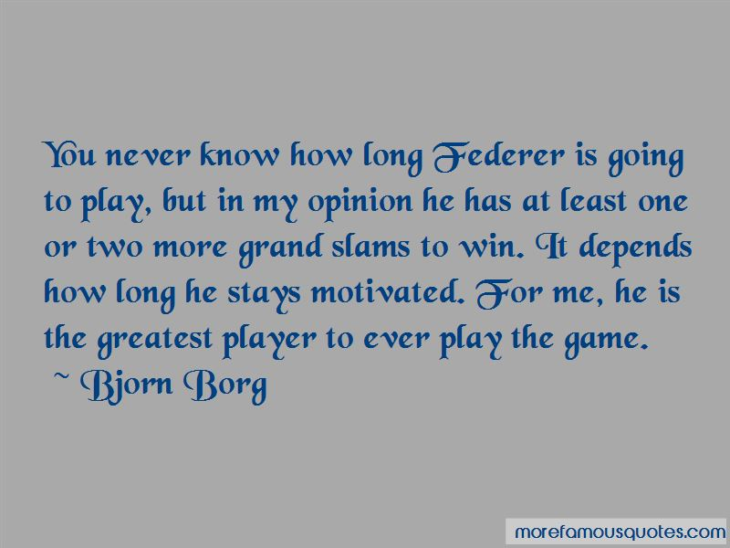 Bjorn Borg Quotes Pictures 4