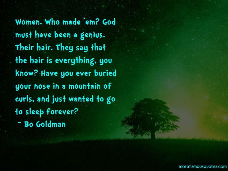 Bo Goldman Quotes