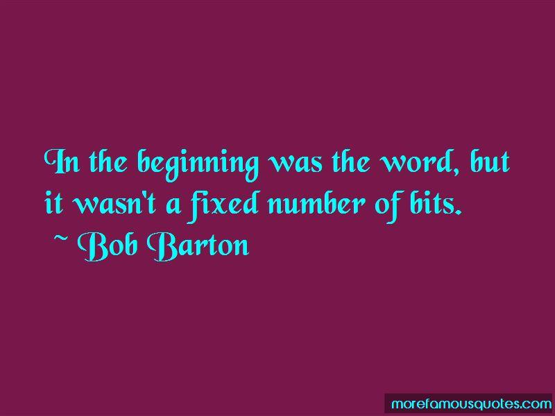 Bob Barton Quotes Pictures 3