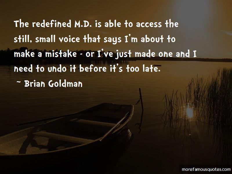 Brian Goldman Quotes Pictures 2