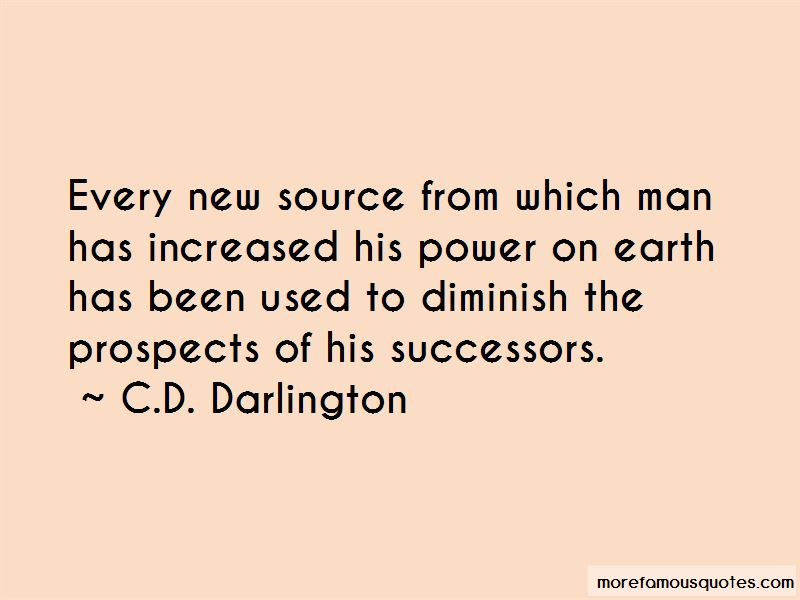 C.D. Darlington Quotes Pictures 4
