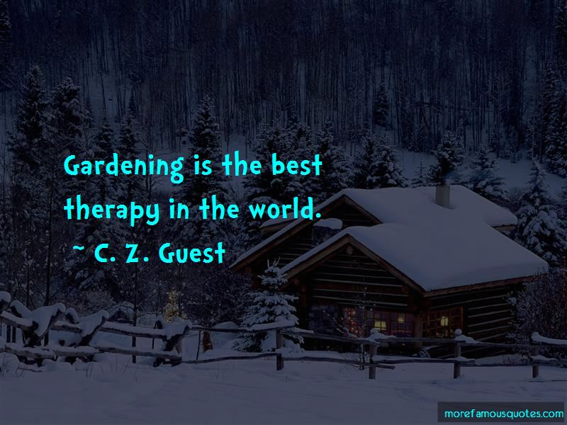 C. Z. Guest Quotes Pictures 4