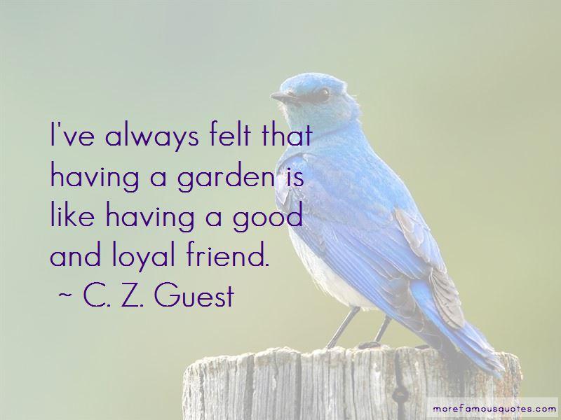C. Z. Guest Quotes