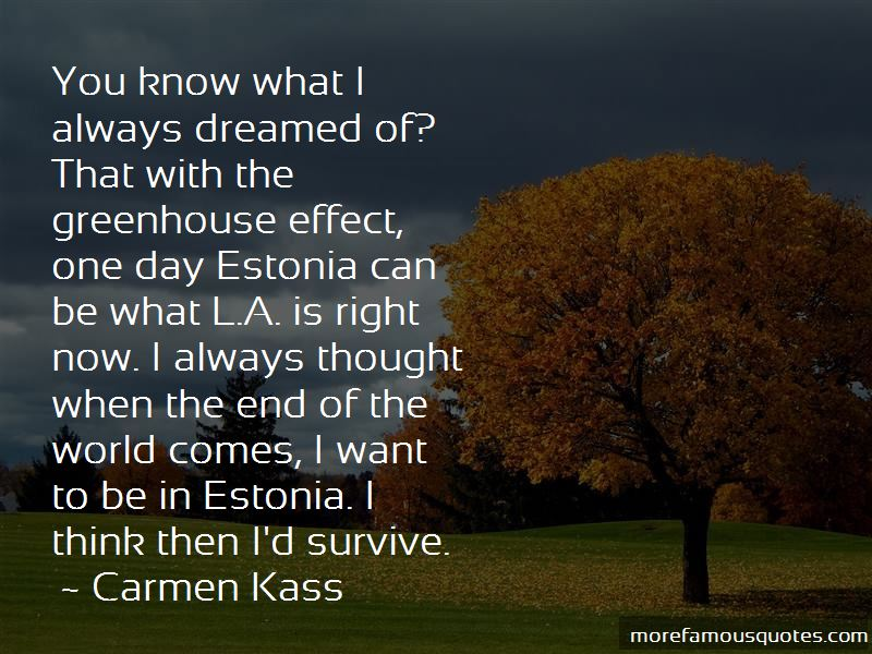 Carmen Kass Quotes Pictures 4
