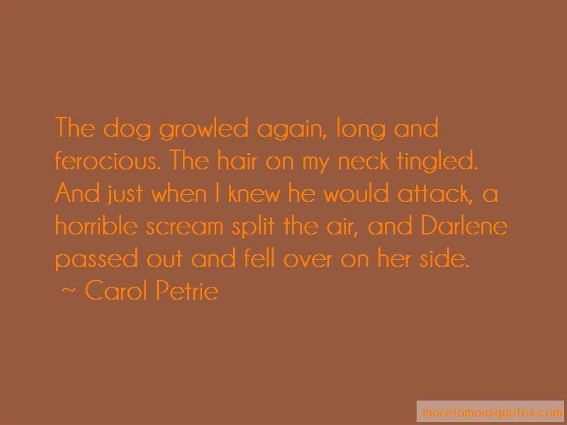 Carol Petrie Quotes