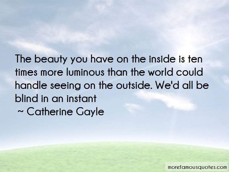 Catherine Gayle Quotes Pictures 2