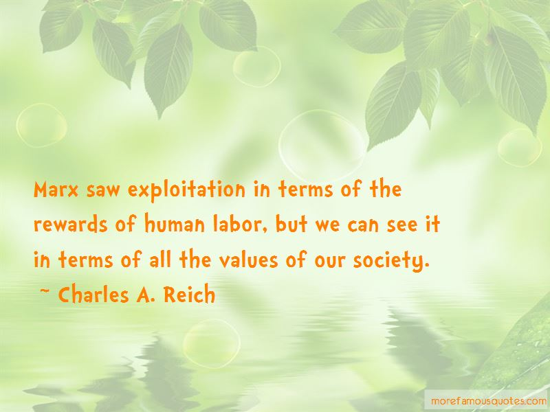 Charles A. Reich Quotes Pictures 4