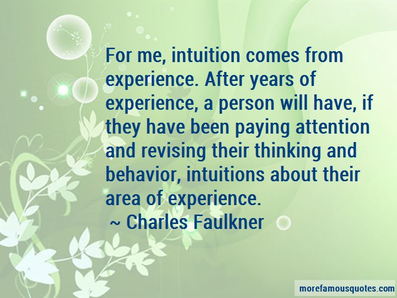 Charles Faulkner Quotes Pictures 3