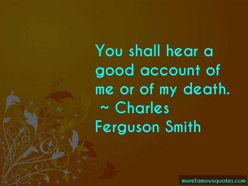 Charles Ferguson Smith Quotes Pictures 2