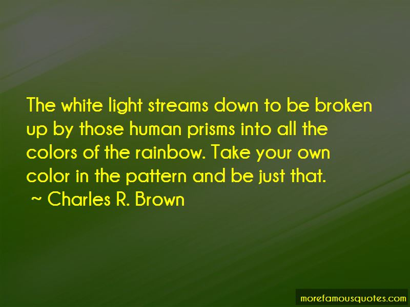 Charles R. Brown Quotes