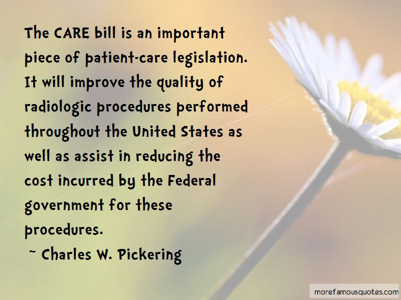 Charles W. Pickering Quotes Pictures 4
