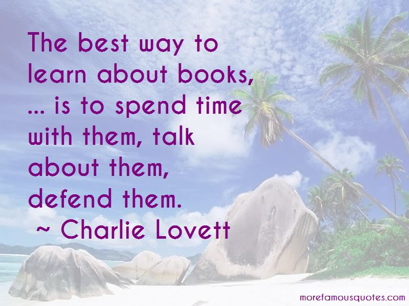 Charlie Lovett Quotes Pictures 2