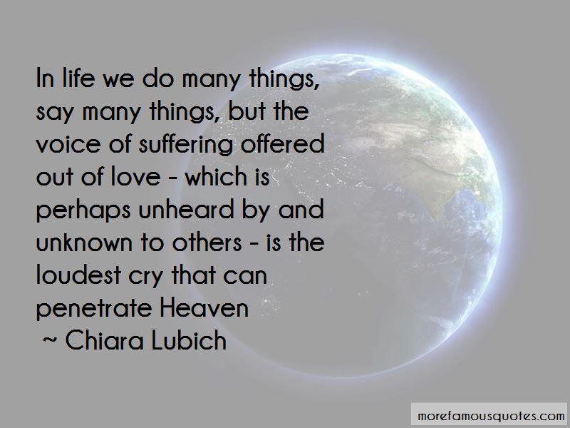 Chiara Lubich Quotes