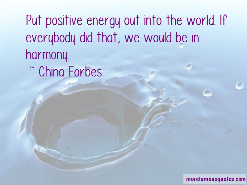 China Forbes Quotes