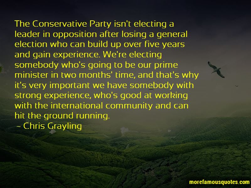 Chris Grayling Quotes