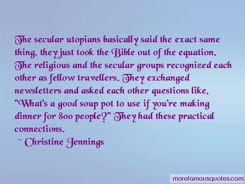 Christine Jennings Quotes