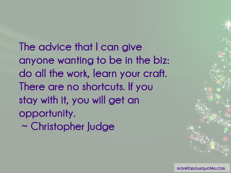 Christopher Judge Quotes Pictures 2