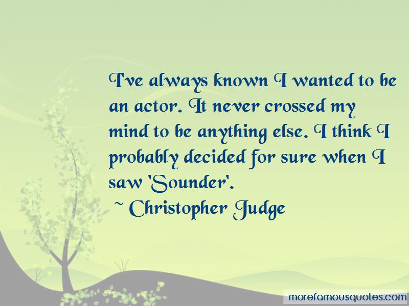 Christopher Judge Quotes Pictures 3