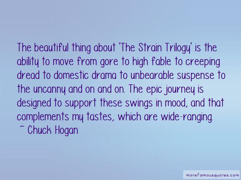 Chuck Hogan Quotes Pictures 2