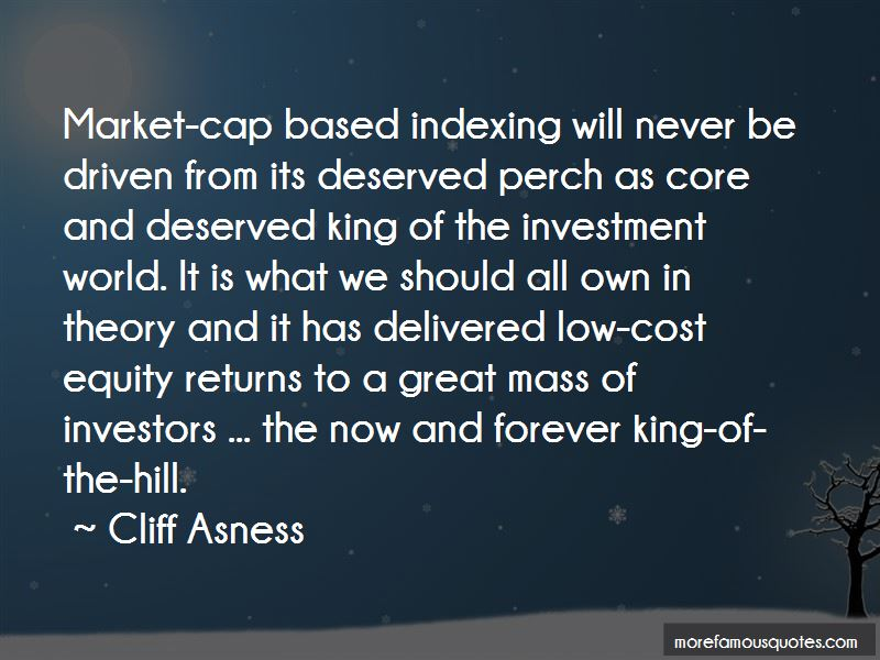 Cliff Asness Quotes