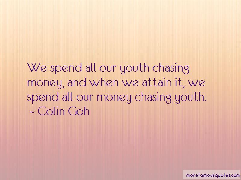 Colin Goh Quotes