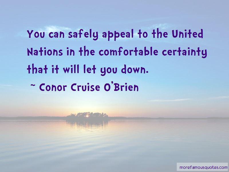 Conor Cruise O'Brien Quotes