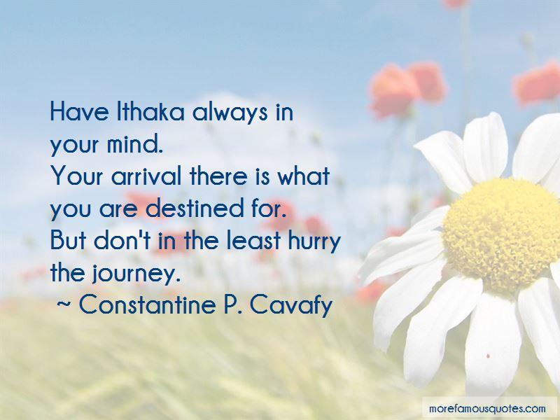 Constantine P. Cavafy Quotes Pictures 2