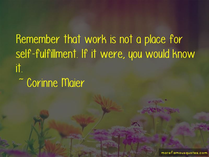 Corinne Maier Quotes Pictures 2