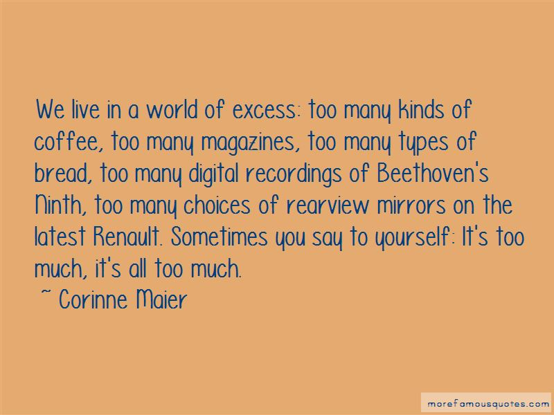 Corinne Maier Quotes Pictures 4