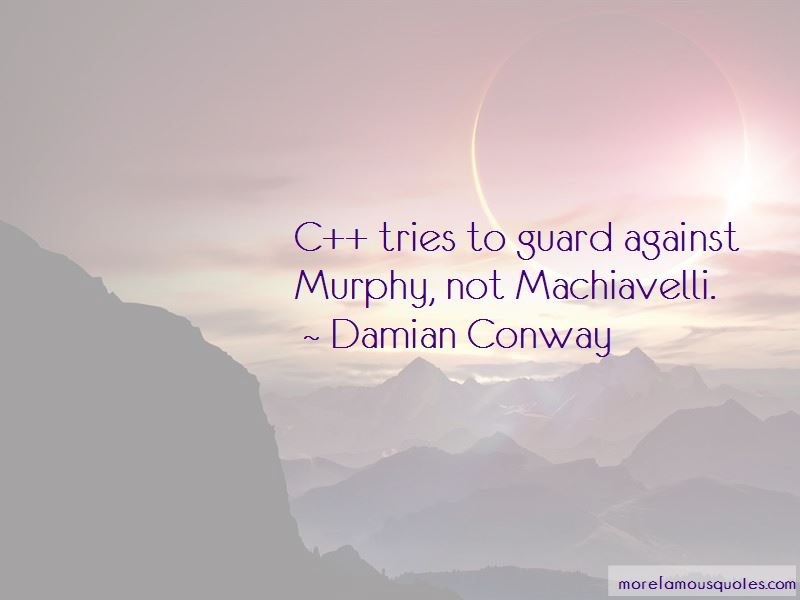 Damian Conway Quotes
