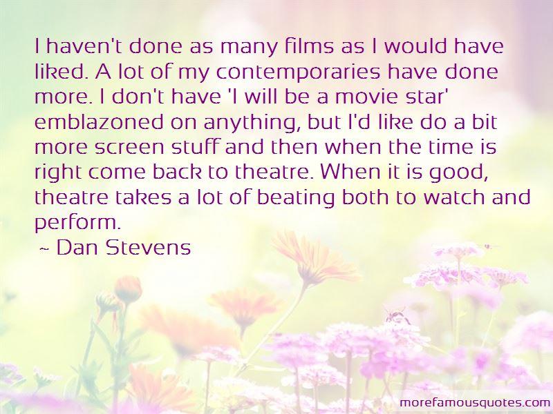 Dan Stevens Quotes Pictures 3