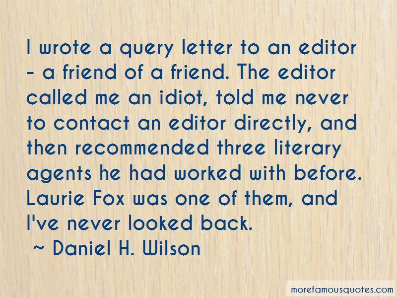 Daniel H. Wilson Quotes Pictures 2