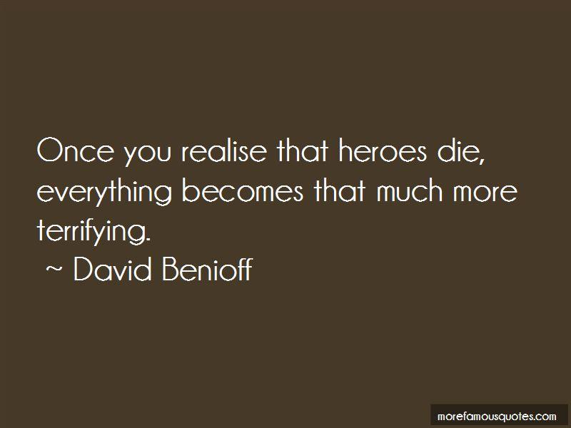 David Benioff Quotes Pictures 2