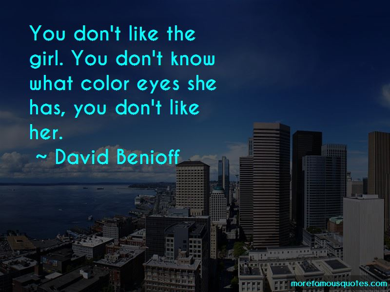 David Benioff Quotes Pictures 3