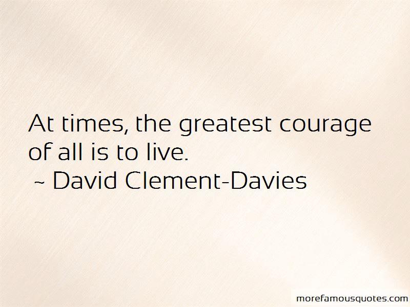David Clement-Davies Quotes Pictures 2