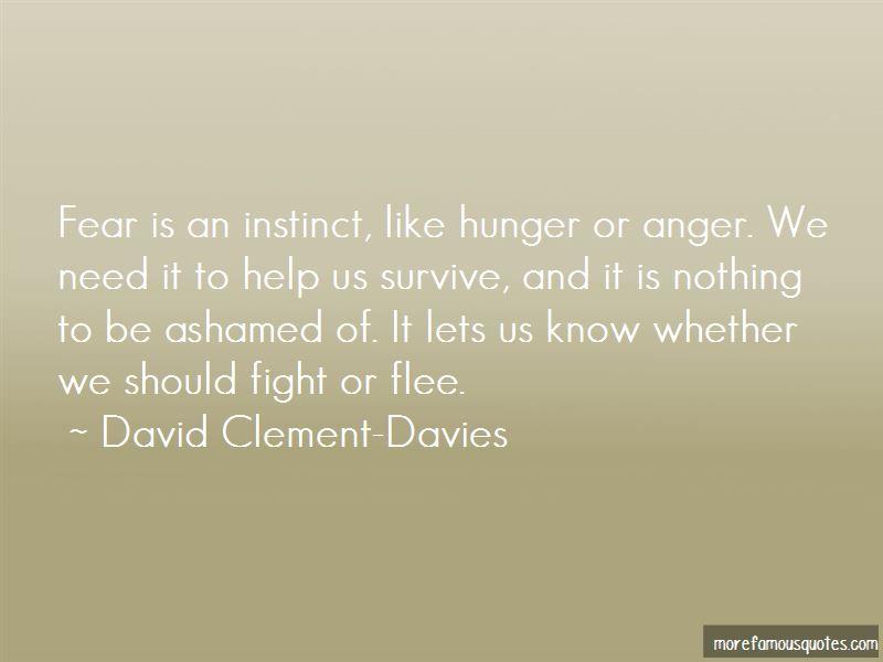 David Clement-Davies Quotes