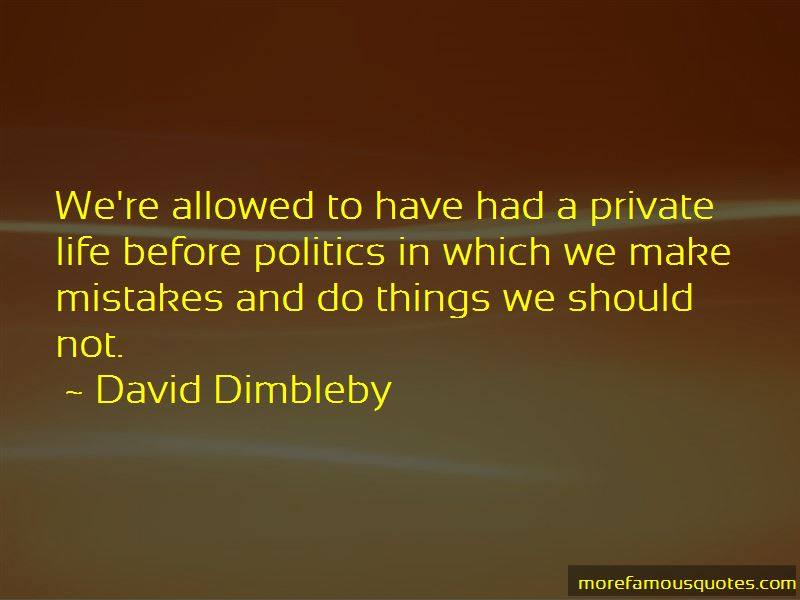 David Dimbleby Quotes Pictures 2