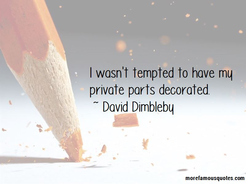 David Dimbleby Quotes Pictures 3
