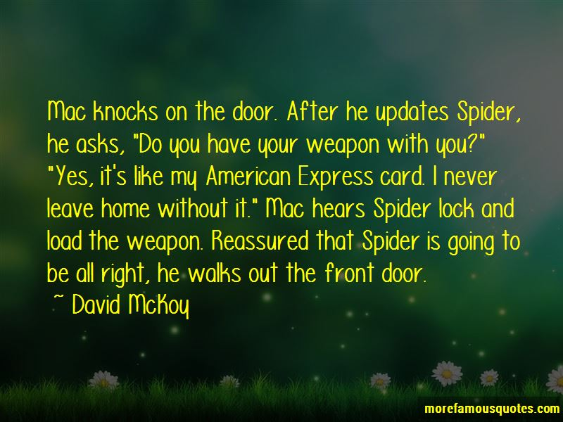 David McKoy Quotes