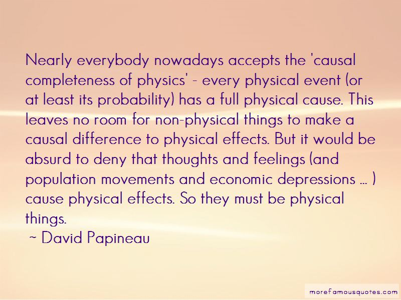 David Papineau Quotes Pictures 3