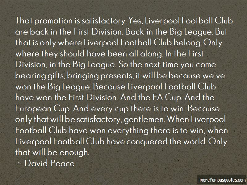 David Peace Quotes Pictures 2