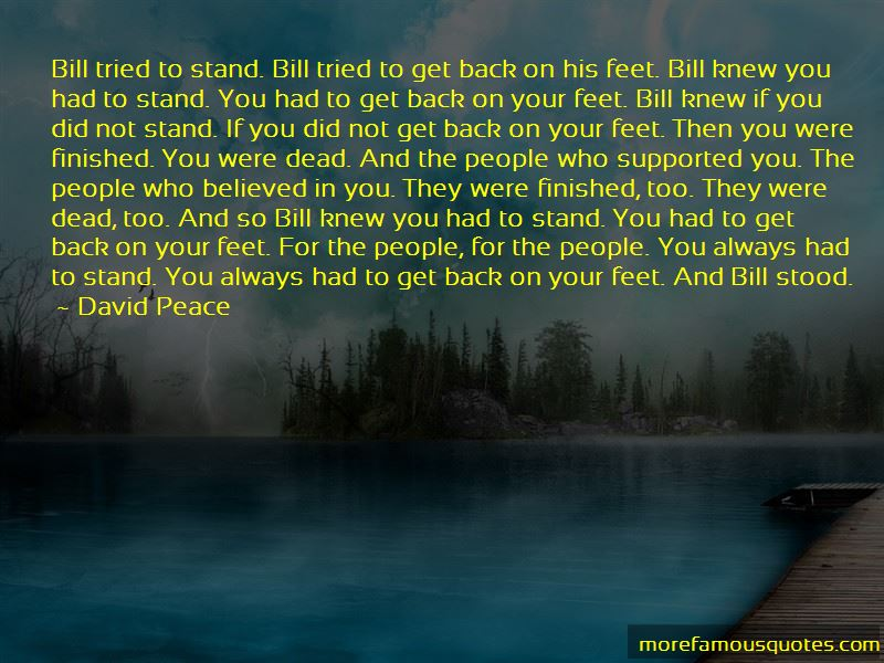 David Peace Quotes Pictures 4