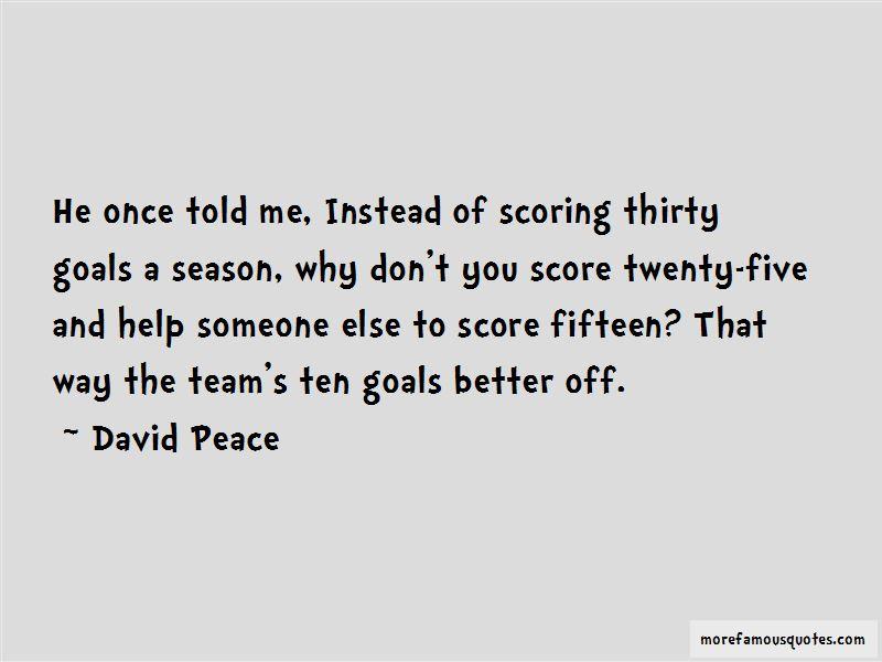 David Peace Quotes