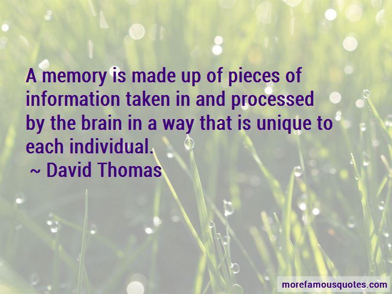 David Thomas Quotes
